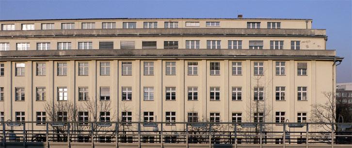 Bundesanstalt für Immobilienaufgaben (BImA) - Frontalansicht